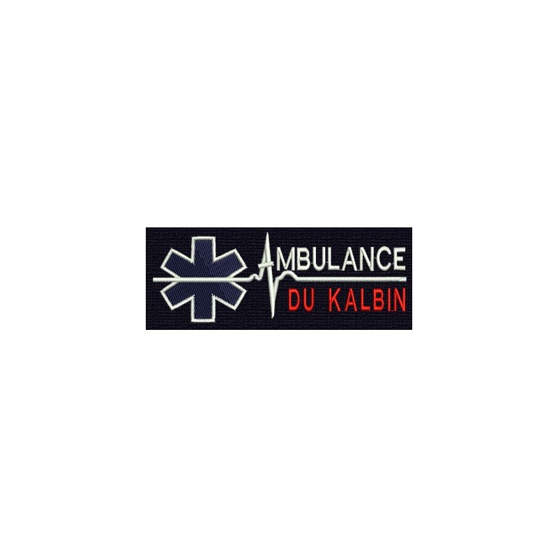LOGO AMBULANCE PERSONNALISE