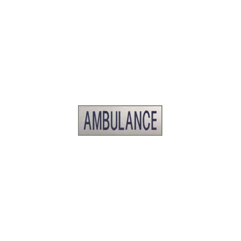DOSSARD AMBULANCE REFLECTO