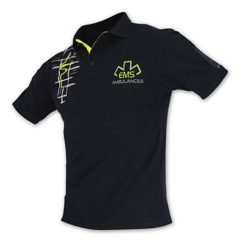 POLO DESIGN AMBULANCE - FLUO