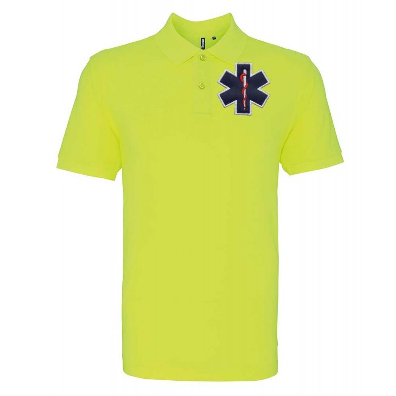 POLO FLUO - HOMME