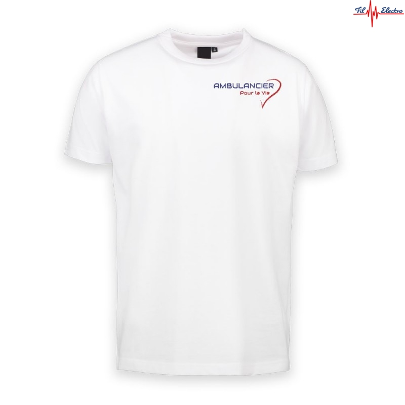 TEE-SHIRT AMBULANCIER COEUR