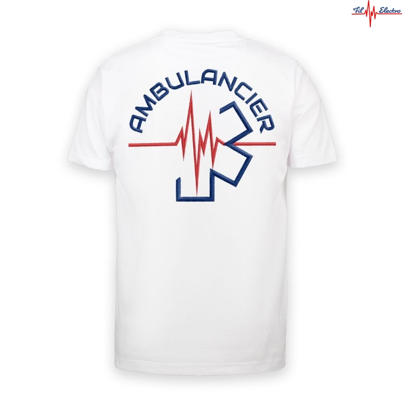 TEE-SHIRT AMBULANCIER FIL