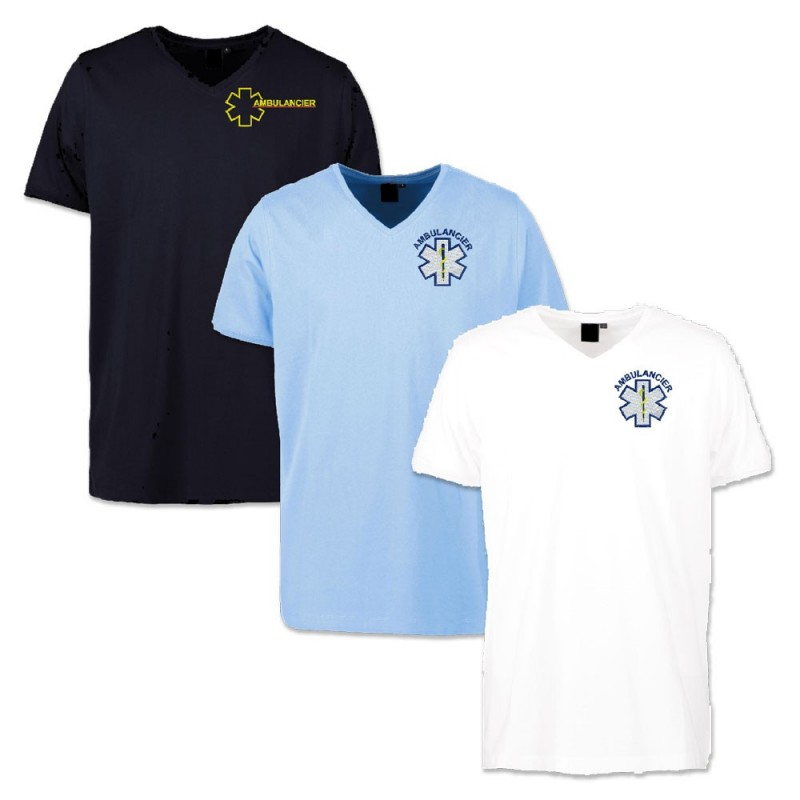 TEE-SHIRT PROWEAR ECOLABEL - HOMME COL V