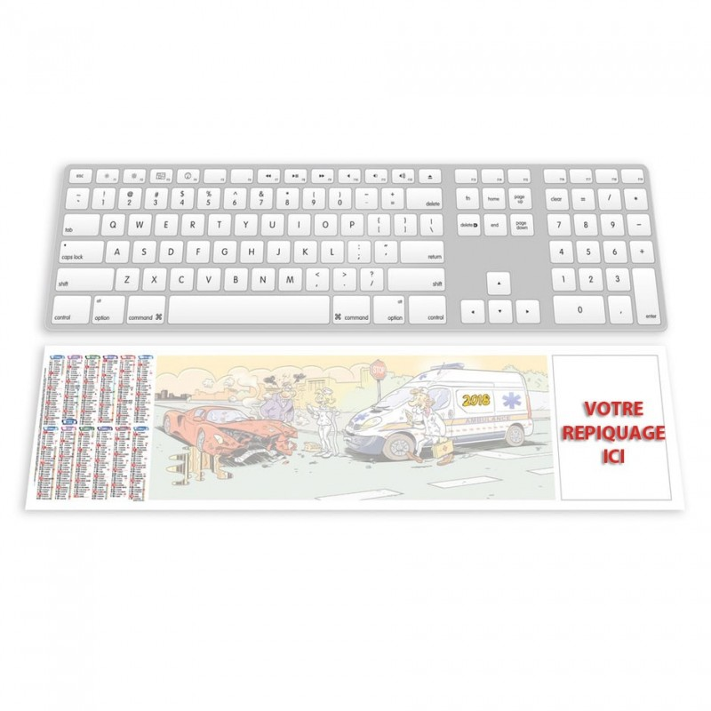 SMC AMBULANCIER - SOUS-MAIN CLAVIER
