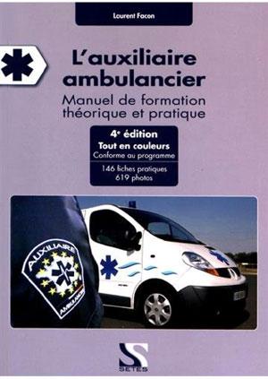 Livre l'auxiliaire Ambulancier - Ambu Promo