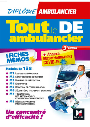 Livre Tout le DE Ambulancier - Ambu Promo