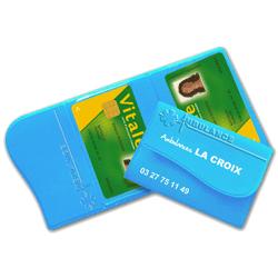 Garde ordonnance & porte-carte sécurité sociale