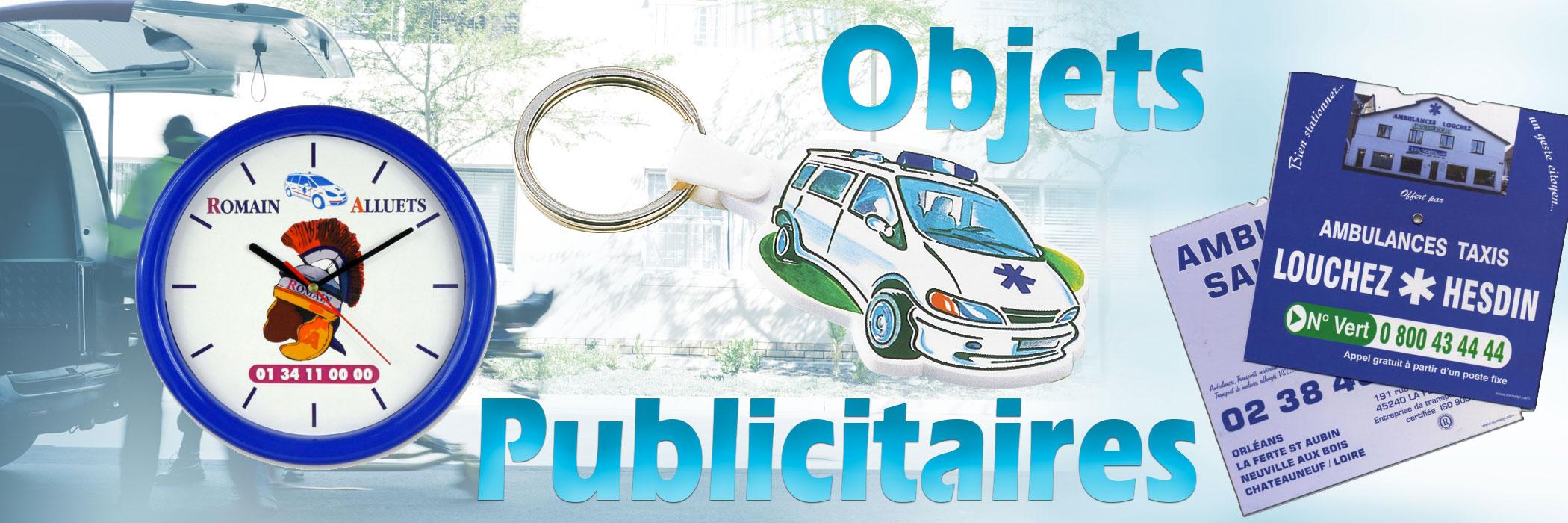 Objets publicitaires ambulancier sur Ambu Promo