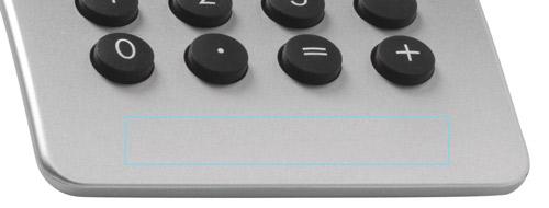 Zones de marquage Calculatrice Stream DESIGN - Ambu-Promo