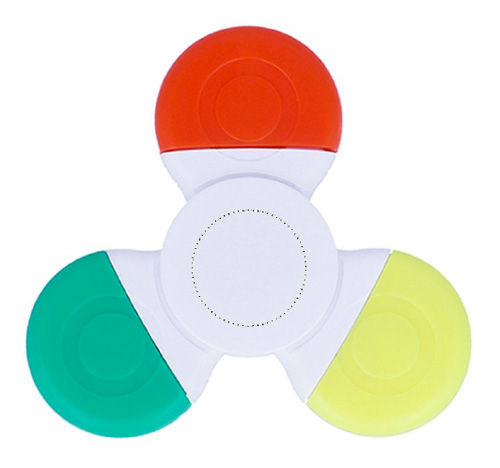 Zone de marquage Surligneur Hand Spinner - Ambu-Promo